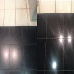 Betonwerkstein reinigen und polieren