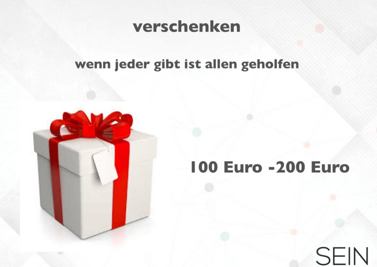 SEIN Unternehmernetzwerk Berlin - Geschenke der Partner
